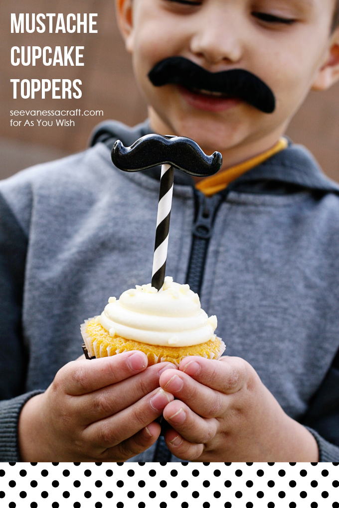 Mustache Cupcake Toppers 11 web