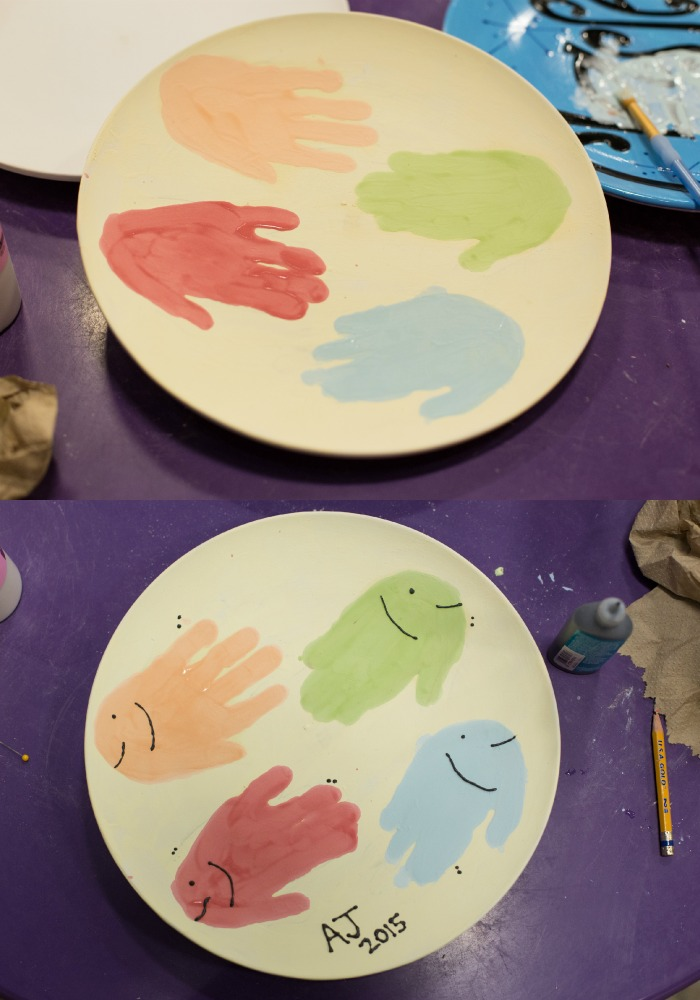 Dr. Seuss Handprint Plate | As You Wish