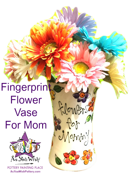 Flowers for Mommy vase1
