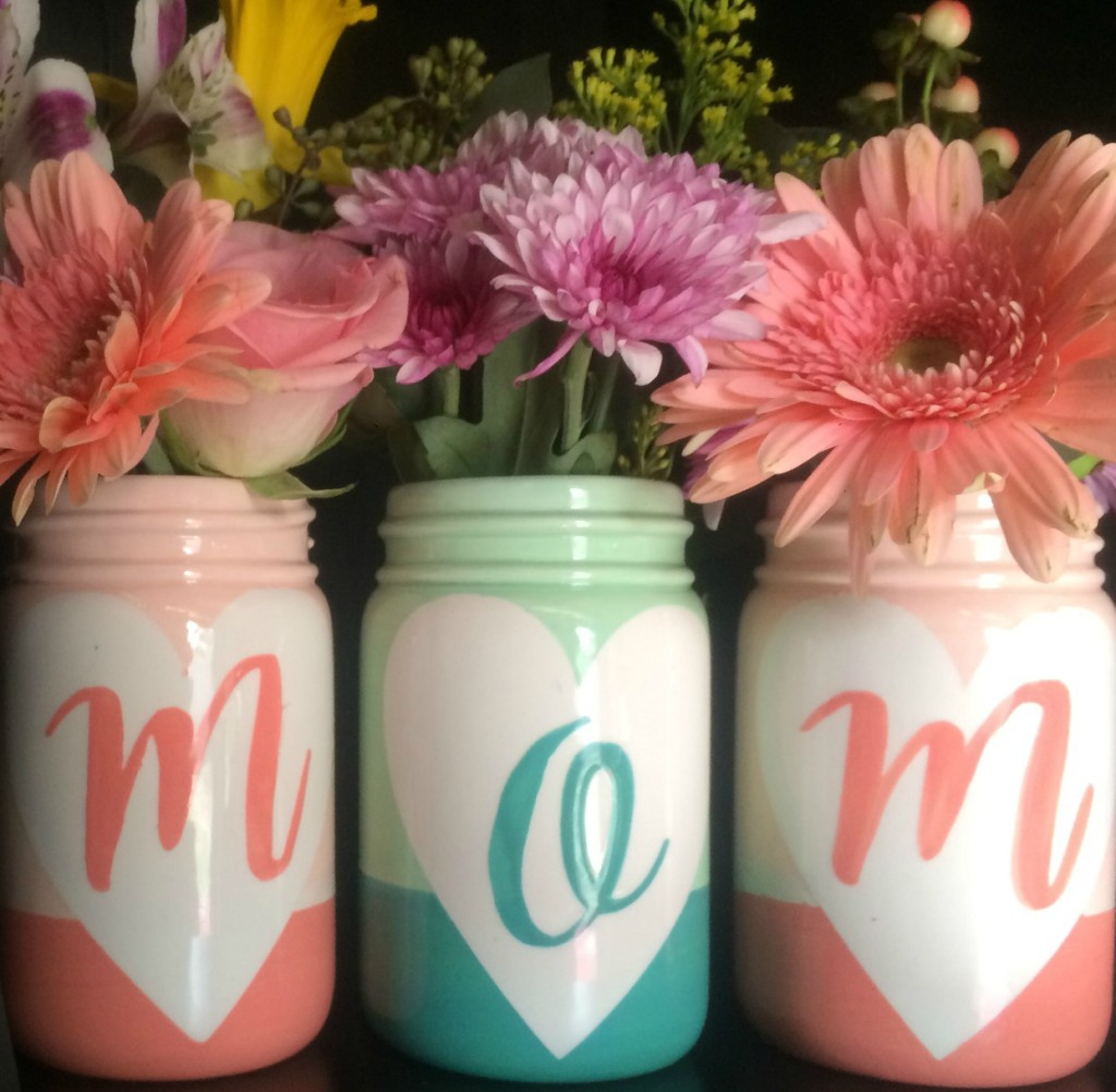 Mother S Day Mason Jar Vases As You Wish Pottery